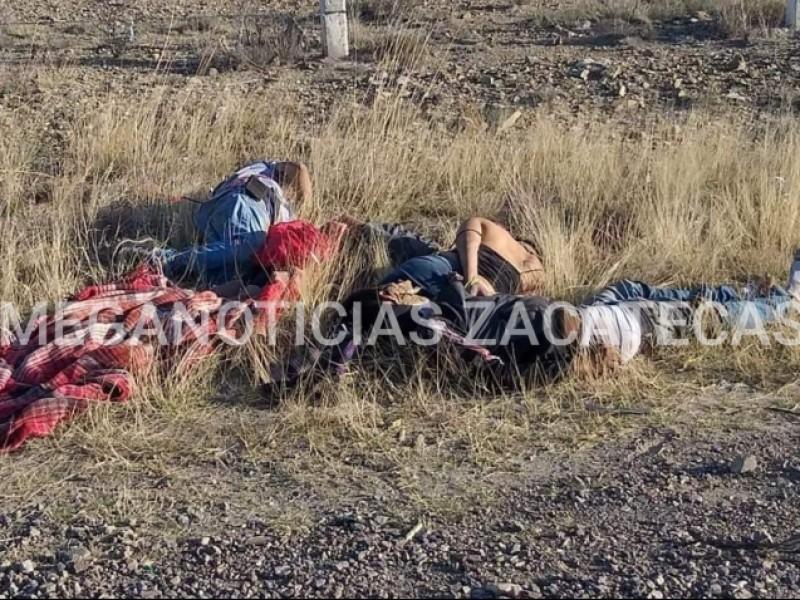 Localizan cuatro ejecutados en Saín Alto