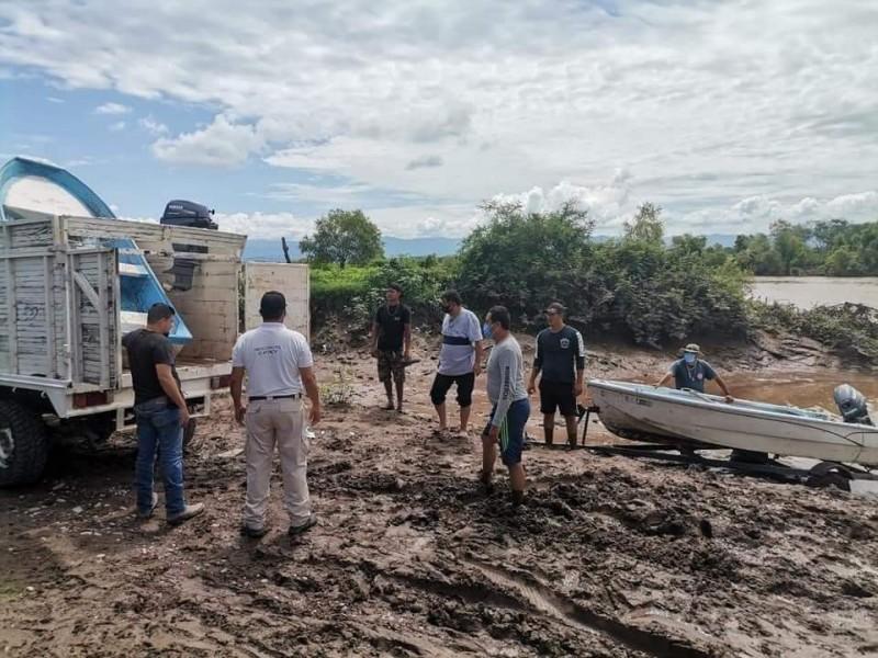 Localizan cuerpo de joven que fue arrastrado por rio Acaponeta