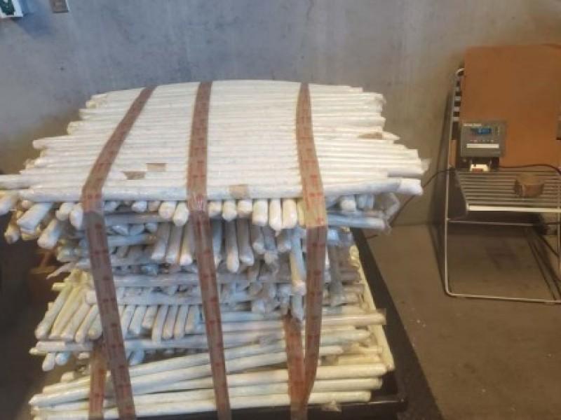 Localizan droga al interior de tráiler en Nogales, Arizona