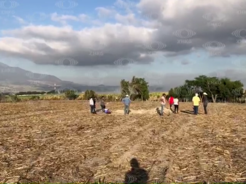 Localizan fosa clandestina en Xalisco