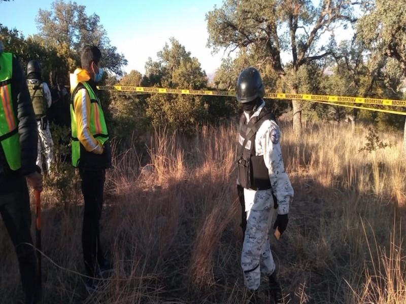 Localizan madres buscadoras restos humanos calcinados