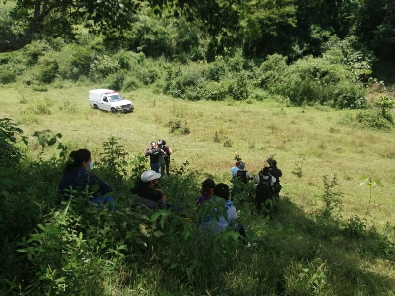 Localizan restos de persona sin vida en Xalapa