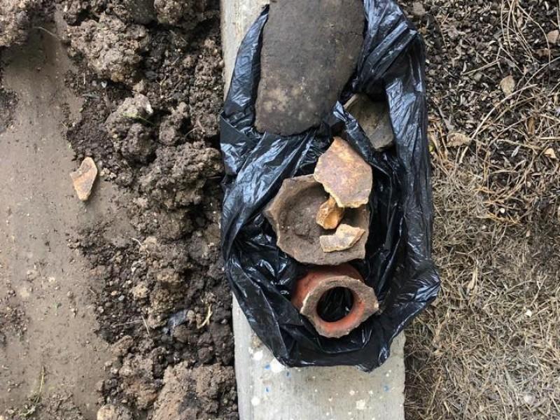 Localizan restos prehispánicos en la UAN