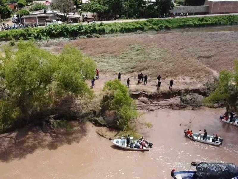 Localizan sin vida cuerpo de menor arrastrado por Río Acaponeta