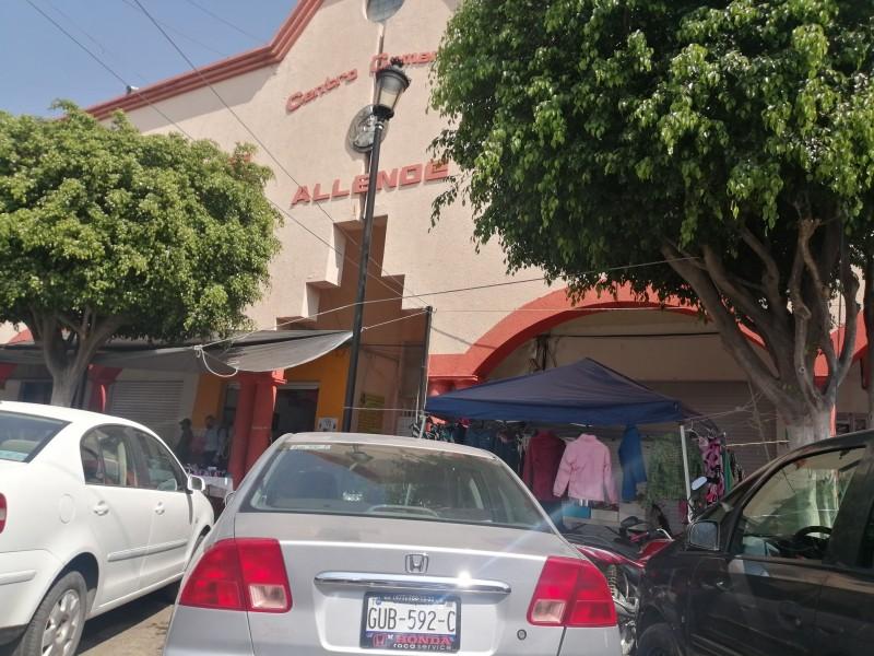 Locatarios del Mercado Allende piden tolerancia para sus clientes