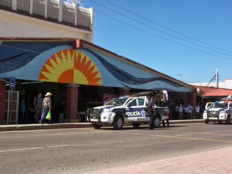 Locatarios del Mercado Municipal de Navojoa utilizan cámaras de videovigilancia