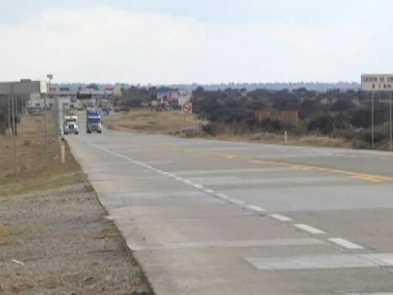 Logran recursos para mejorar carretera Zacatecas-Aguascalientes