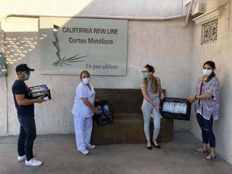 Lograron donar 1100 caretas a personal médico para afrontar pandemia
