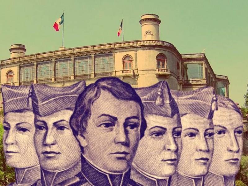 Lols héroes de Chapultepec, fuera de la memoria de guaymenses