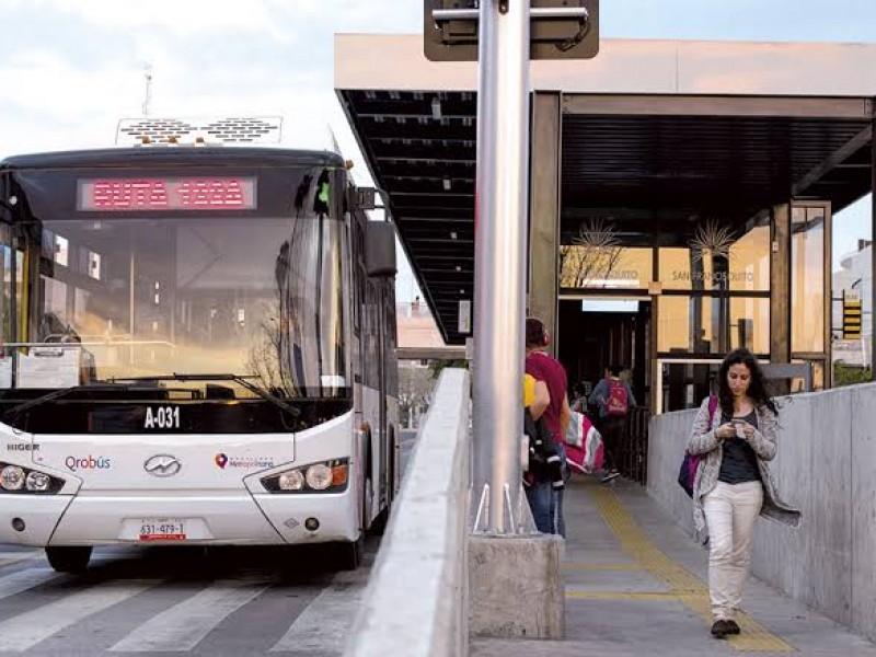 López Franco reconoce ineficiencia de servicio QroBus