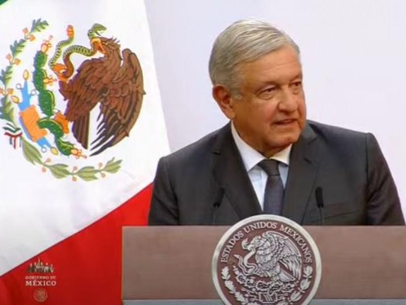 López Obrador reconoce que han aumentado los feminicidios y extorsiones