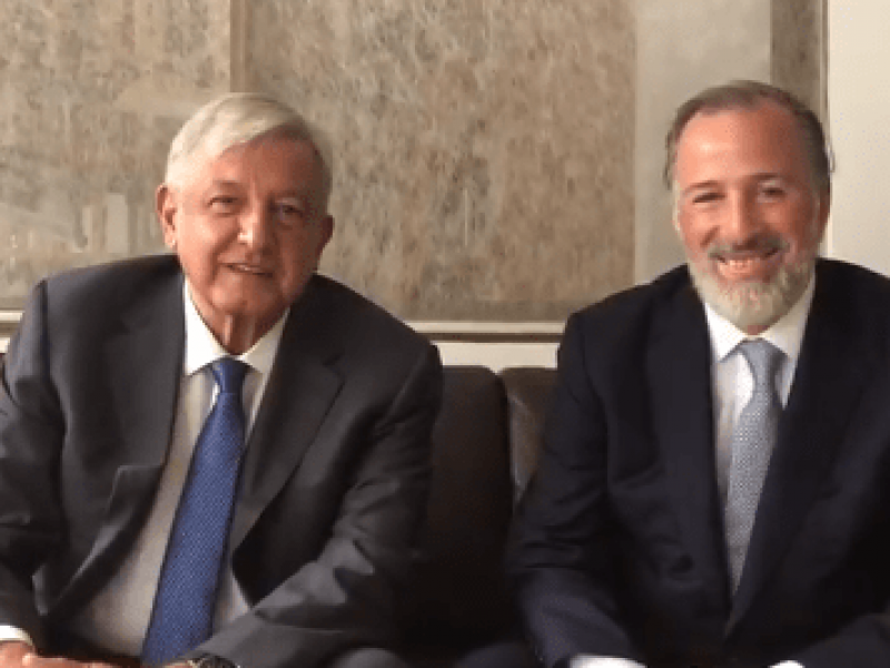 López Obrador se reunió con José Antonio Meade