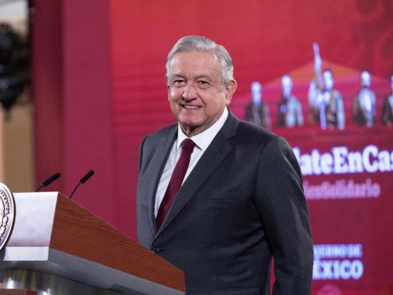 López Obrador se vacunará mañana contra Covid-19