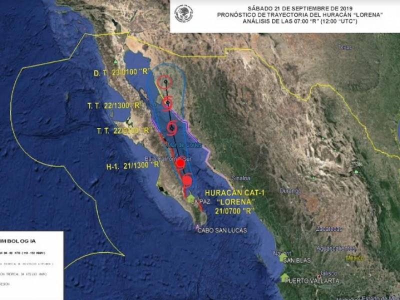 Lorena mantendrá trayectoria al norte-noroeste: SEMAR