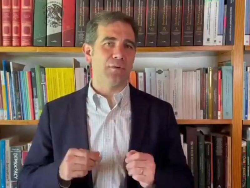 Lorenzo Córdova llama a votar el 6 de junio