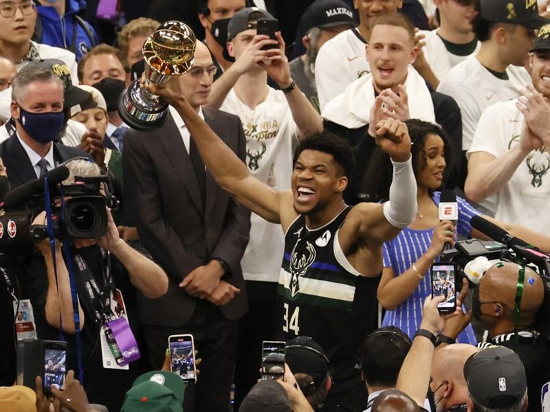 Los Bucks de Milwaukee son campeones de la NBA