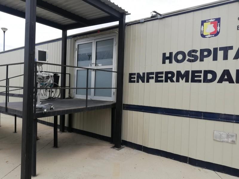 Los Cabos registra 3% de ocupación hospitalaria