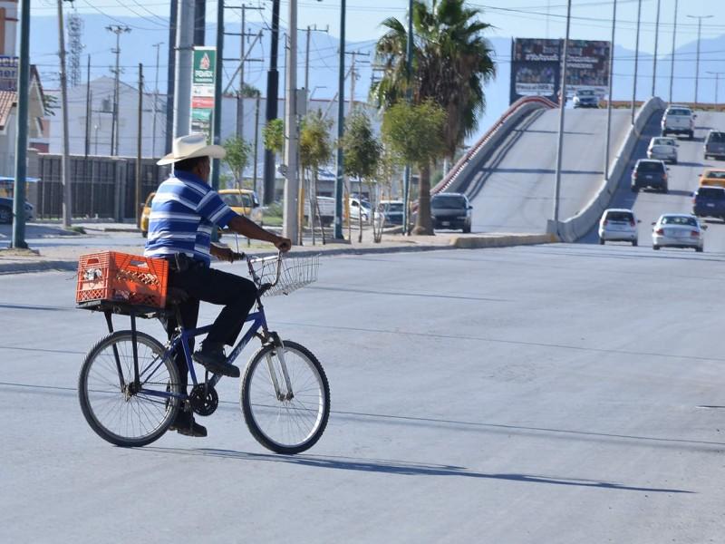 Los ciclistas también se rigen por un reglamento