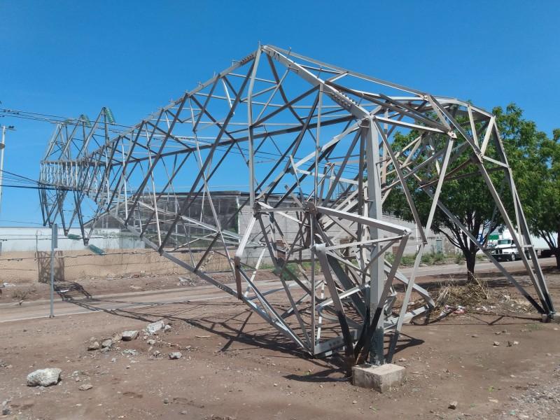 Los daños por las lluvias en Ciudad Obregón
