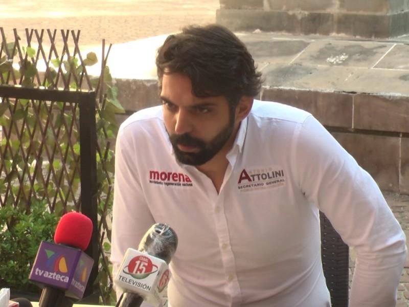 Los desacuerdos siempre han existido en Morena: Antonio Attolini