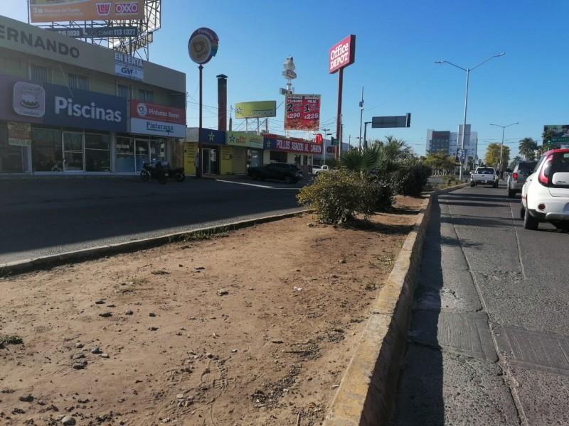 Los Mochis sufre deterioro de su imagen urbana