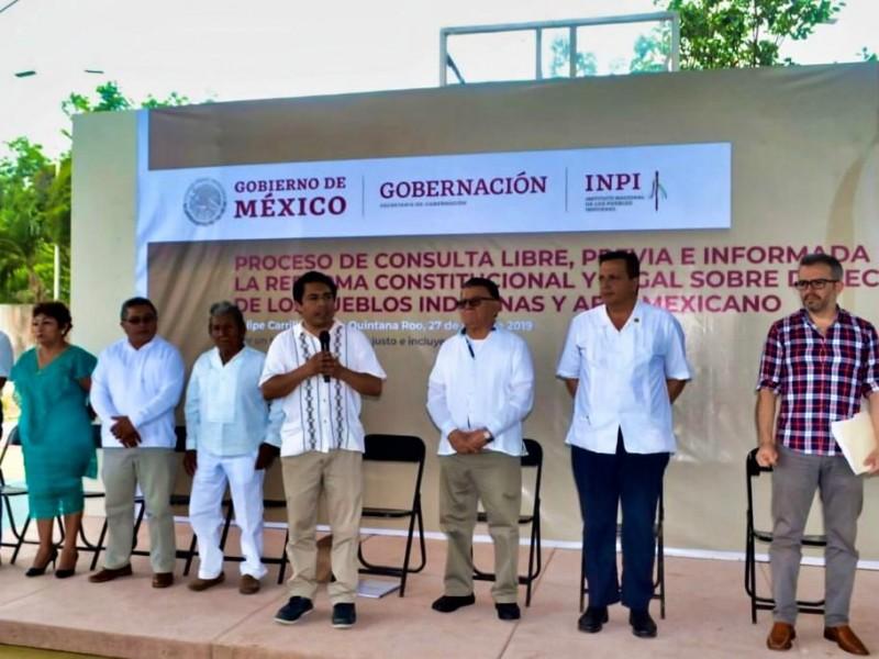 Los pueblos indígenas de la región maya hablan