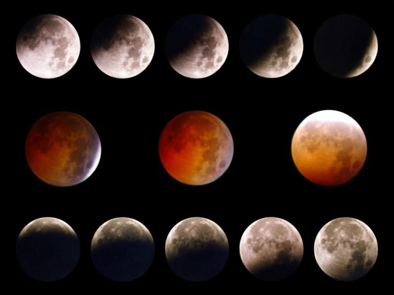 Los tránsitos lunares fueron captados