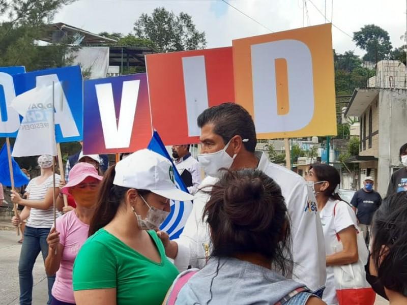 Los xalapeños, hartos del gobierno morenista: David Velasco Chedraui