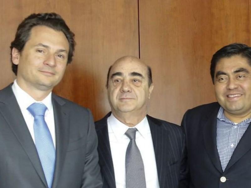 Lozoya involucra al gobernador Miguel Barbosa por sobornos