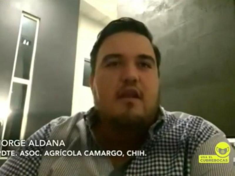 Luchamos para tener agua en 2021: Jorge Aldana
