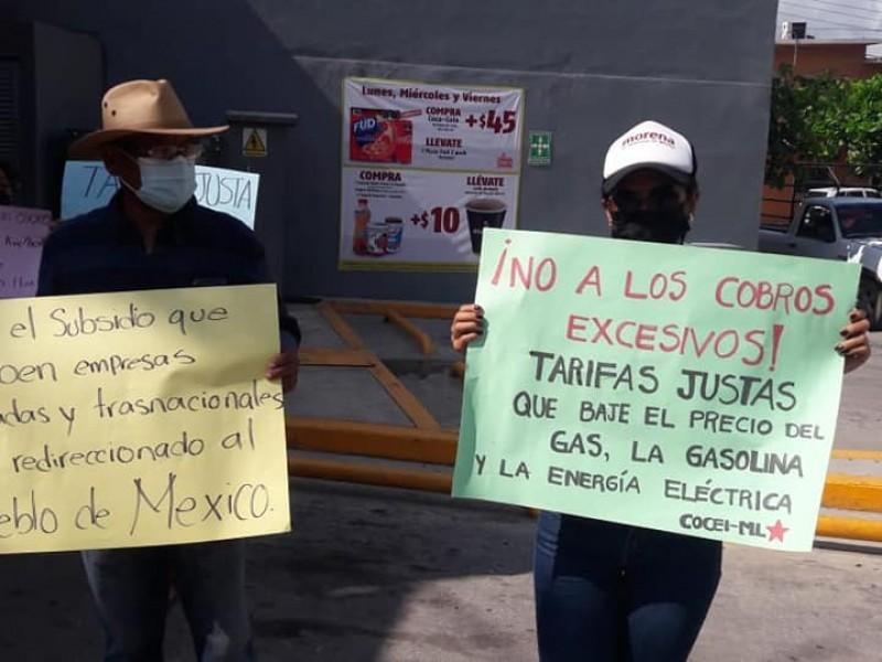 Luchan organizaciones sociales para renacionalizar la industria eléctrica