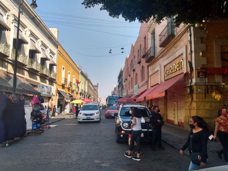 Luego de enfrentamiento, se instalan ambulantes en Centro Histórico