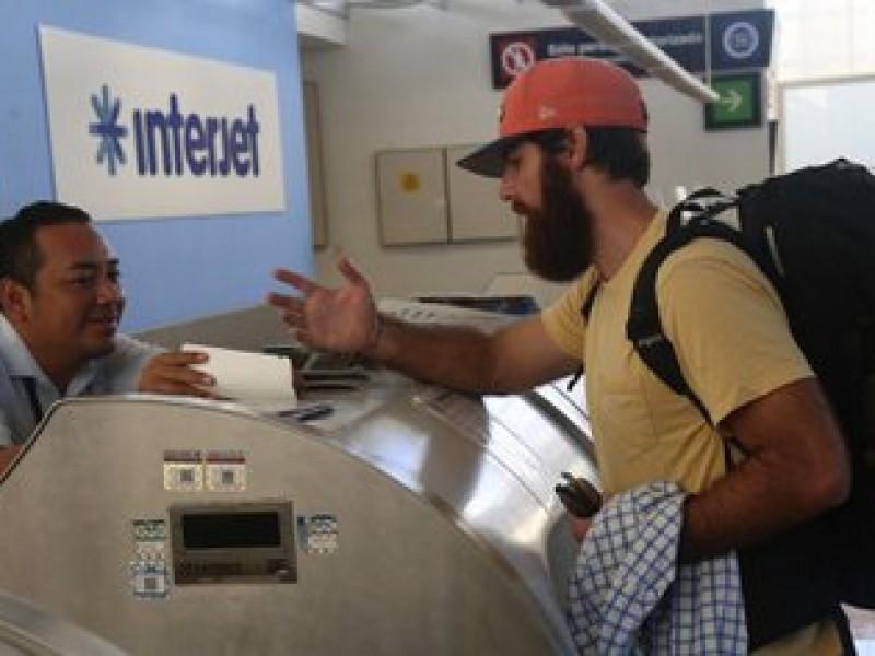 Luego de suspensión de vuelos, Interjet atenderá afectaciones