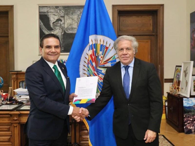 Luis Almagro, secretario general de la OEA, positivo por COVID-19