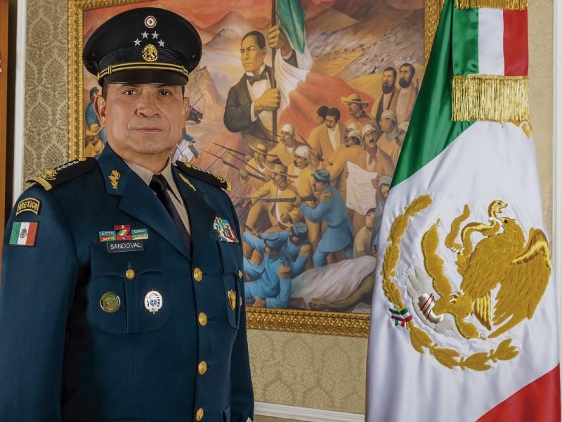 Luis Cresencio Sandoval, Secretario de Defensa, da positivo a COVID-19