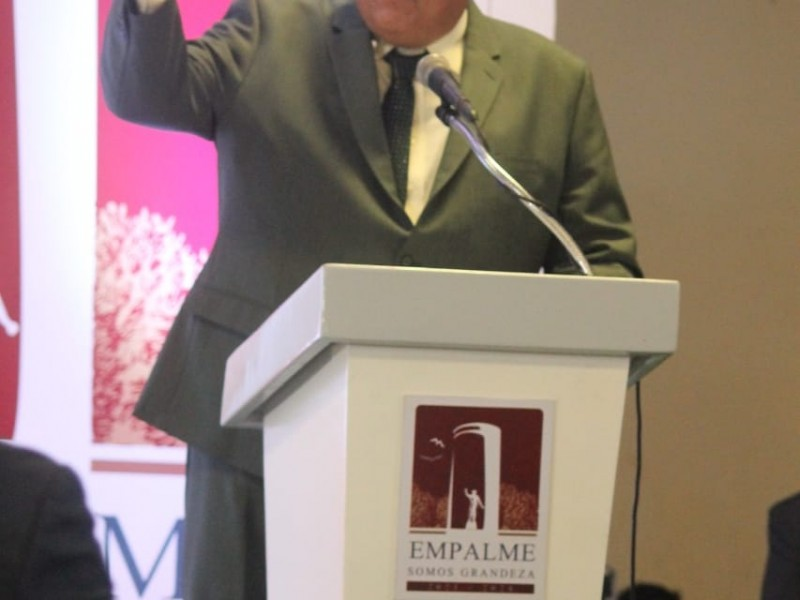Luis Fuentes Aguilar es presidente de Empalme