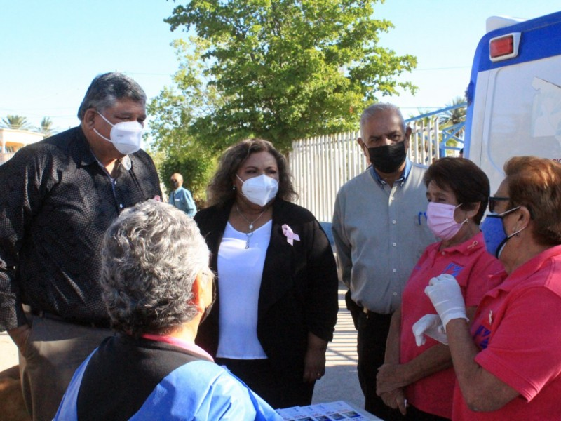 Luis Fuentes inaugura jornada de salud