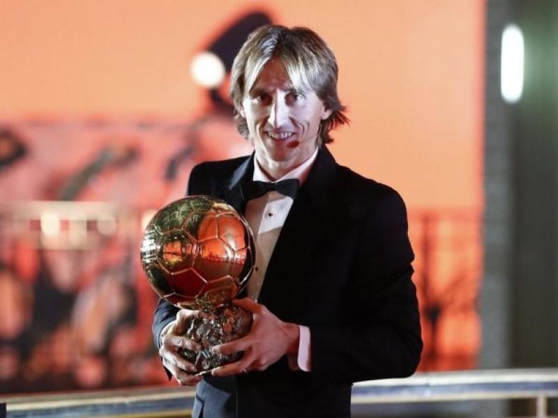 Luka Modric gana su primer balón de oro