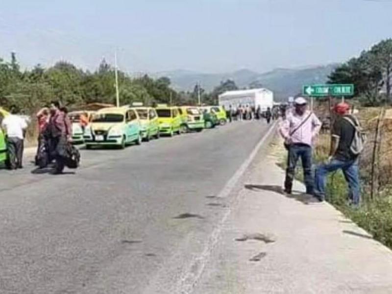 Lunes de bloqueos carreteros en Chiapas