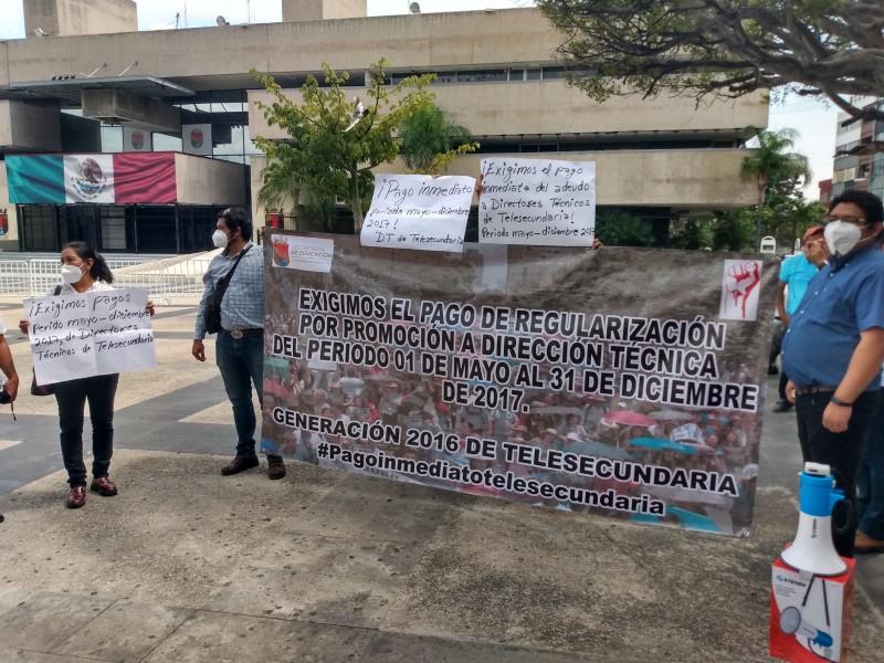 Lunes de protestas en Tuxtla Gutiérrez