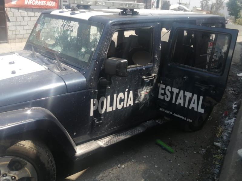Luto en el Edomex; 13 policías fueron emboscados y asesinados