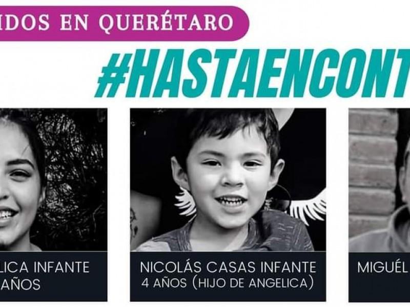 Luz Angélica, su hijo y compañero llevan 42 días desaparecidos