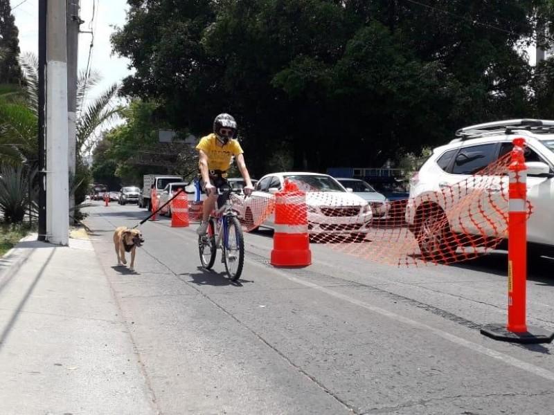 Resuelven diferencias por ciclovía emergente en Guadalupe
