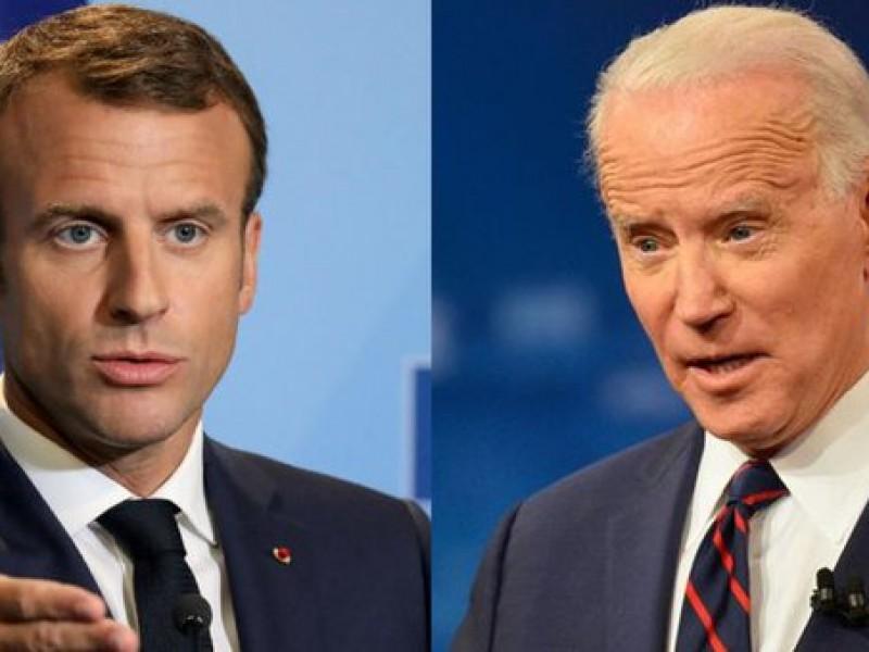 Macron y Biden buscarán paz y estabilidad de Medio Oriente