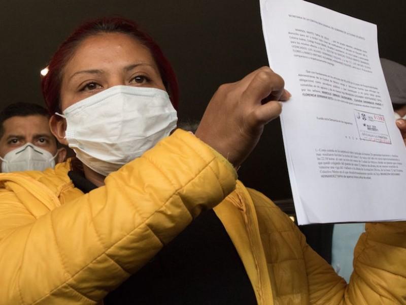 Madre de menor fallecido en L12 denuncia a Sheinbaum