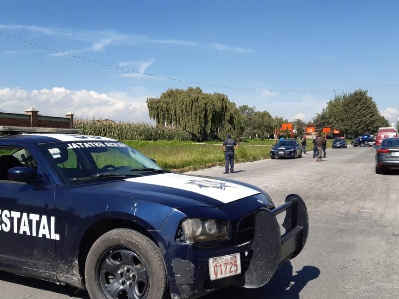 Madrugada violenta en Valle de Toluca