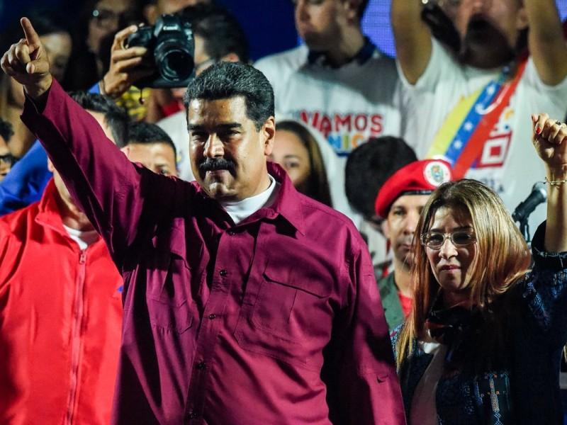 Maduro gana reelección en Venezuela