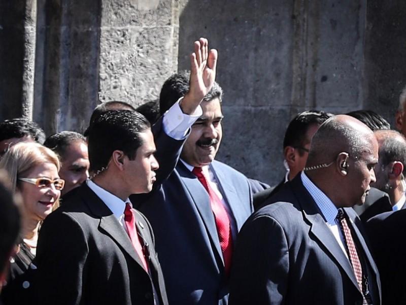 Maduro respalda a AMLO y agradece cariño