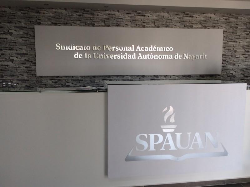 Maestros del SPAUAN reciben caja de ahorro