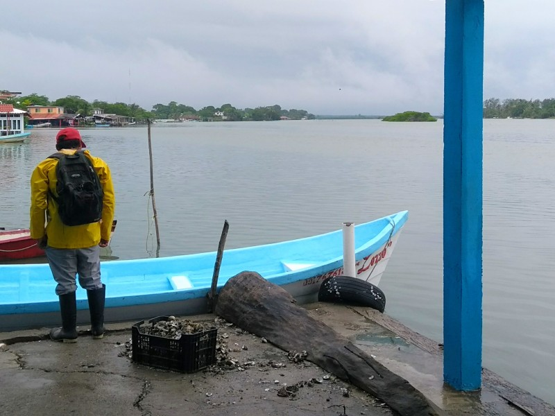 Mal tiempo merma actividad pesquera